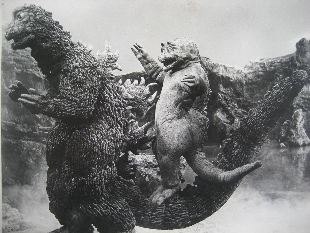 A scene from 'All Monsters Attack'