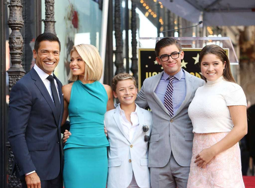 The Consuelos Family 2020 Holiday Card