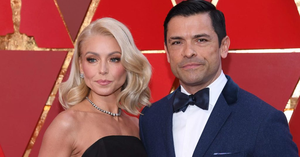 Kelly Ripa and her husband