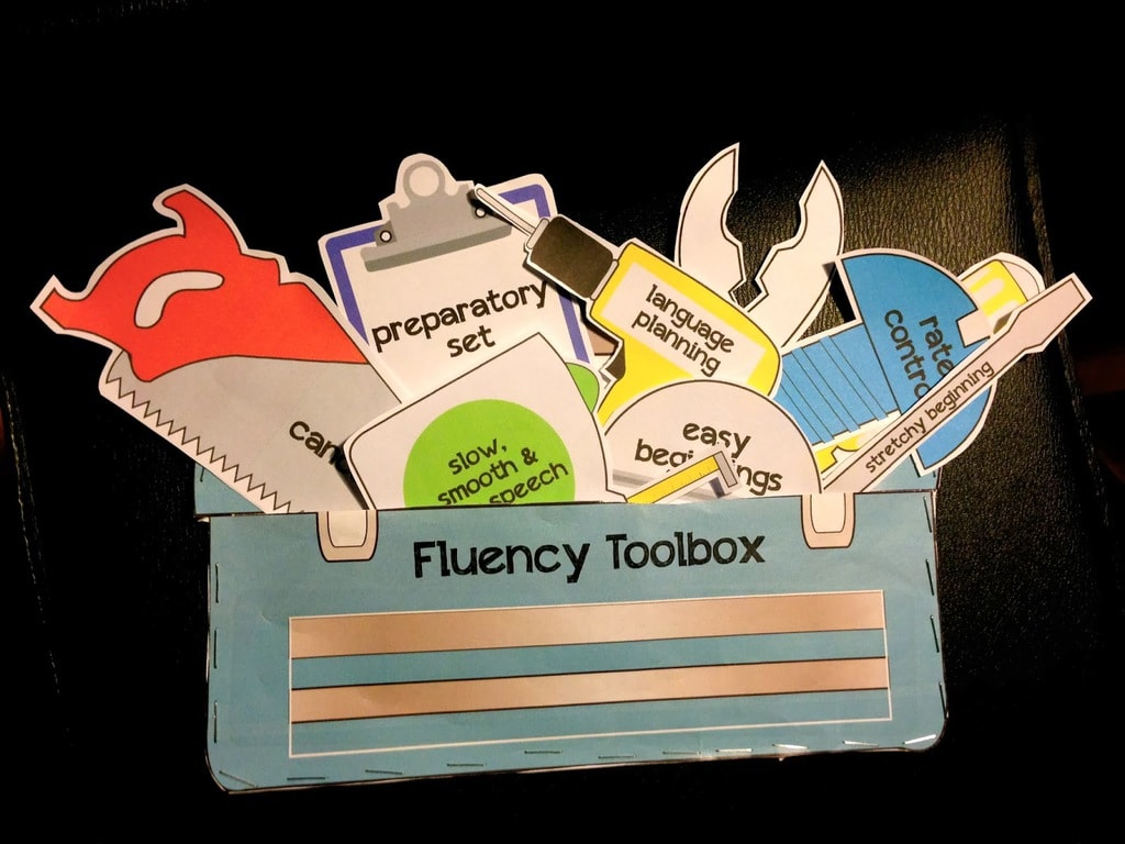 Fluency toolbox for kids dealing with stuttering
