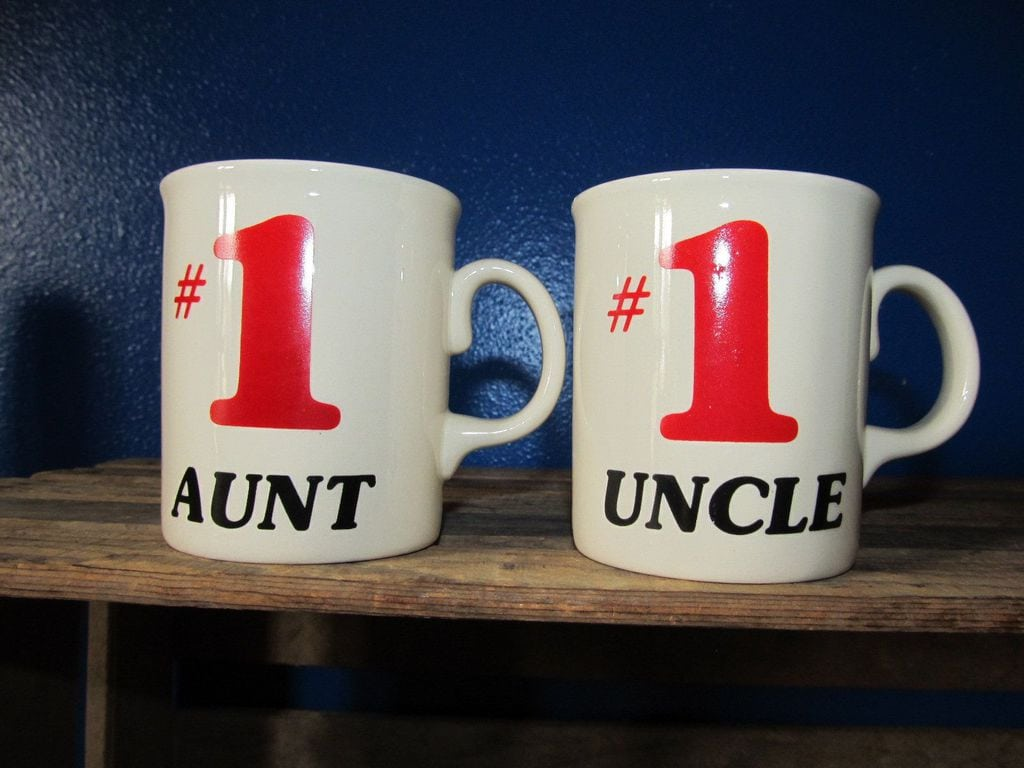 Aunt and Uncle mugs